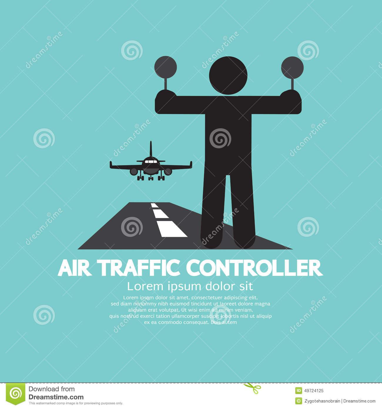 Air Traffic Controller Stock Illustrations.
