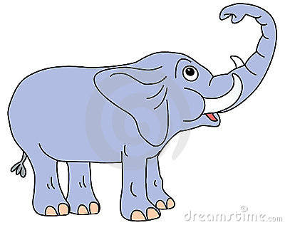 Elephant trunk clipart free.