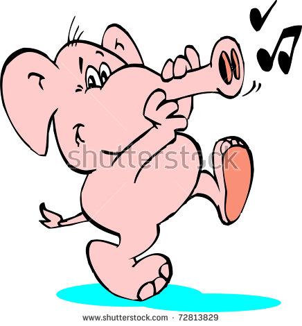 Elephant Trumpet Stock Photos, Royalty.