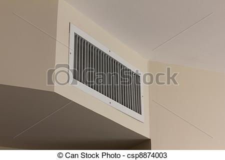 Stock Photos of Air conditioner vent cover.