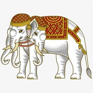 Asian Elephant Clipart Simple.