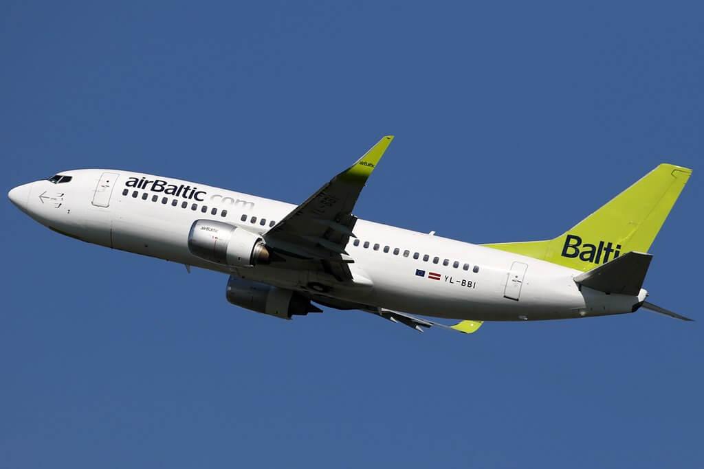 airBaltic Fleet Boeing 737.