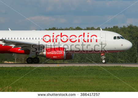 Airberlin Stock Photos, Royalty.