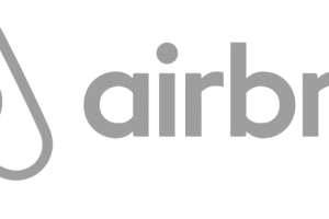 Airbnb logo white png 1 » PNG Image.