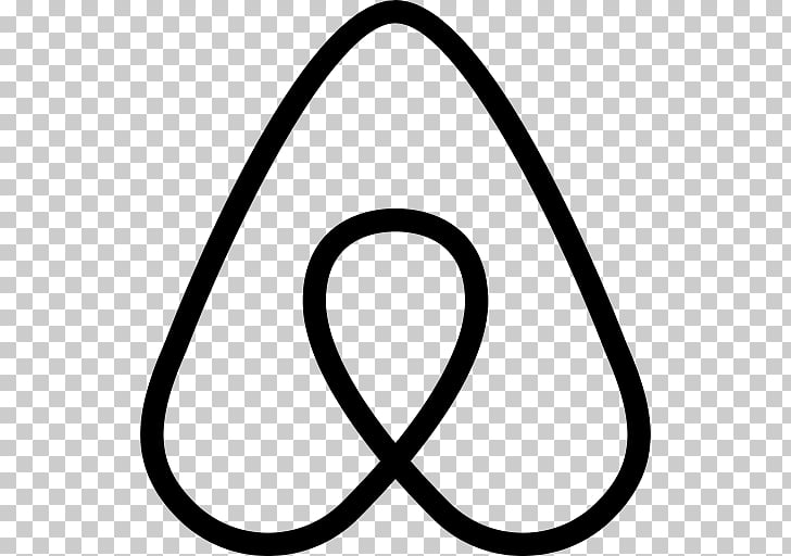 Computer Icons Airbnb, Airbnb logo PNG clipart.