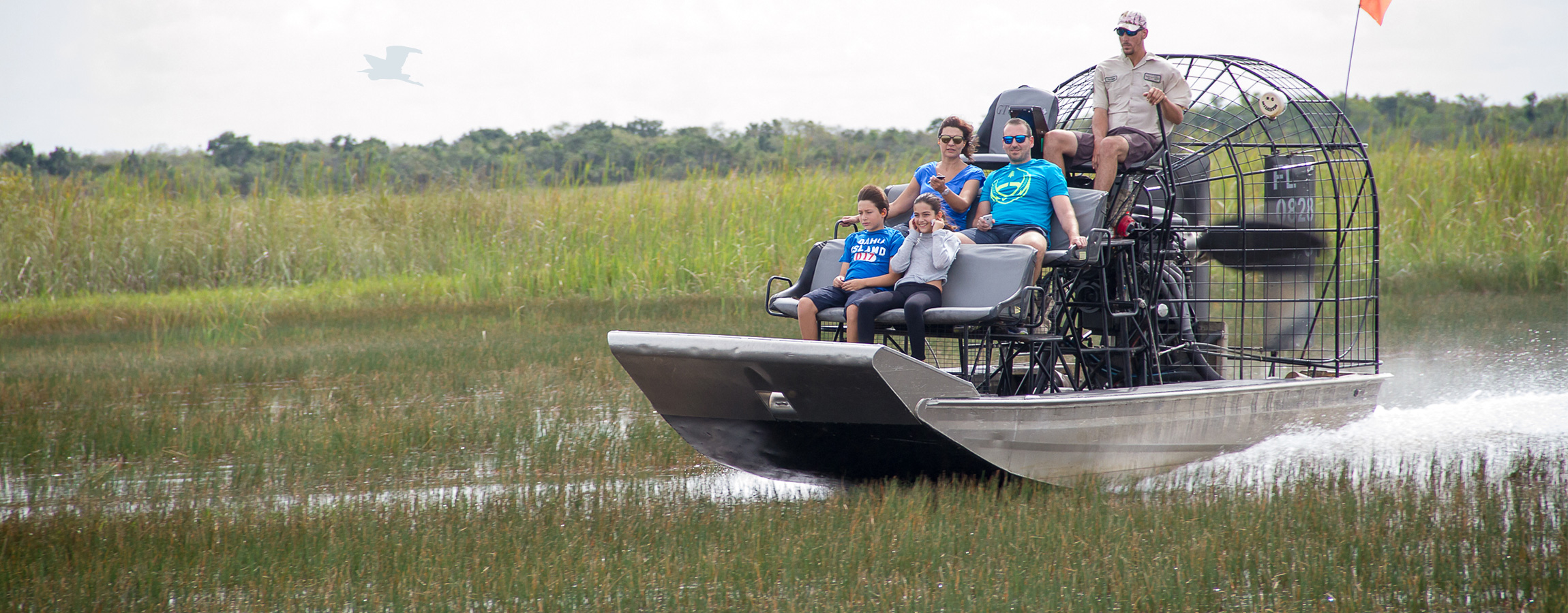 Florida Airboat Rides at Gator Park.