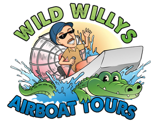 Wild Willys Airboat Tours near Orlando area.