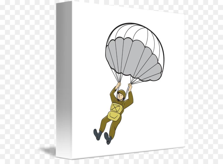 Paratrooper Clip art Airborne forces Army Parachute.