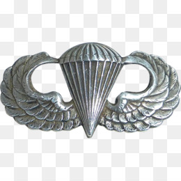 Parachutist Badge PNG and Parachutist Badge Transparent.