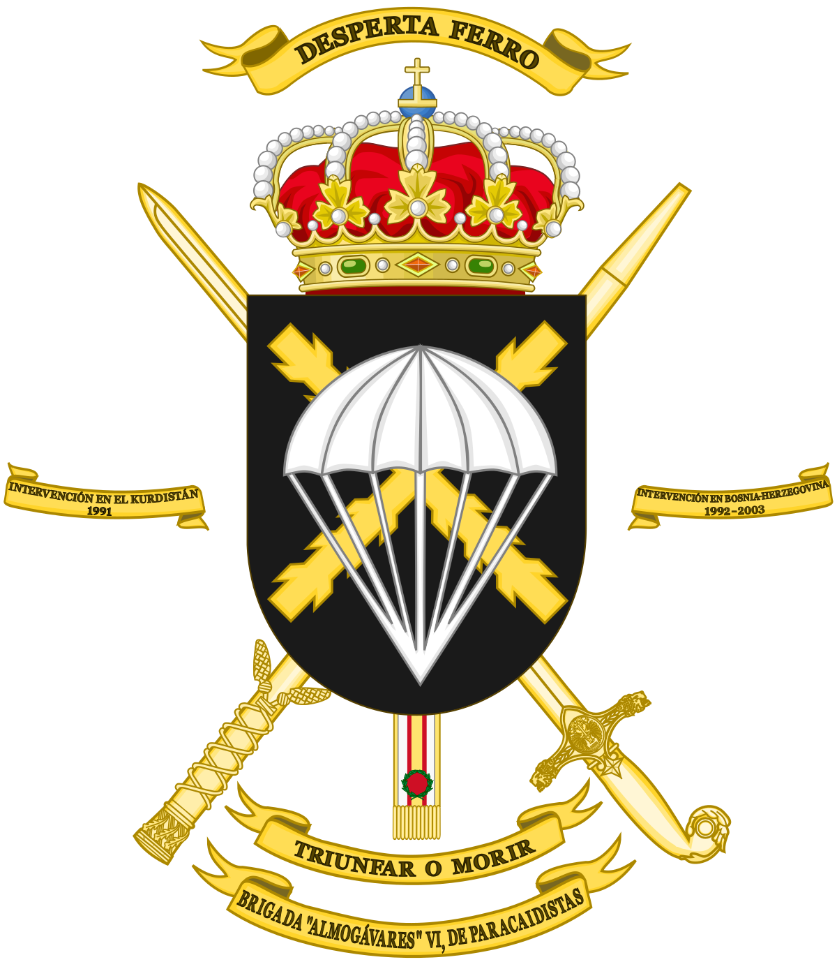 Paratrooper Brigade (Spain).