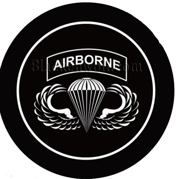 US Army AIRBORNE Logo Puddle Lights for car doors. Only from.