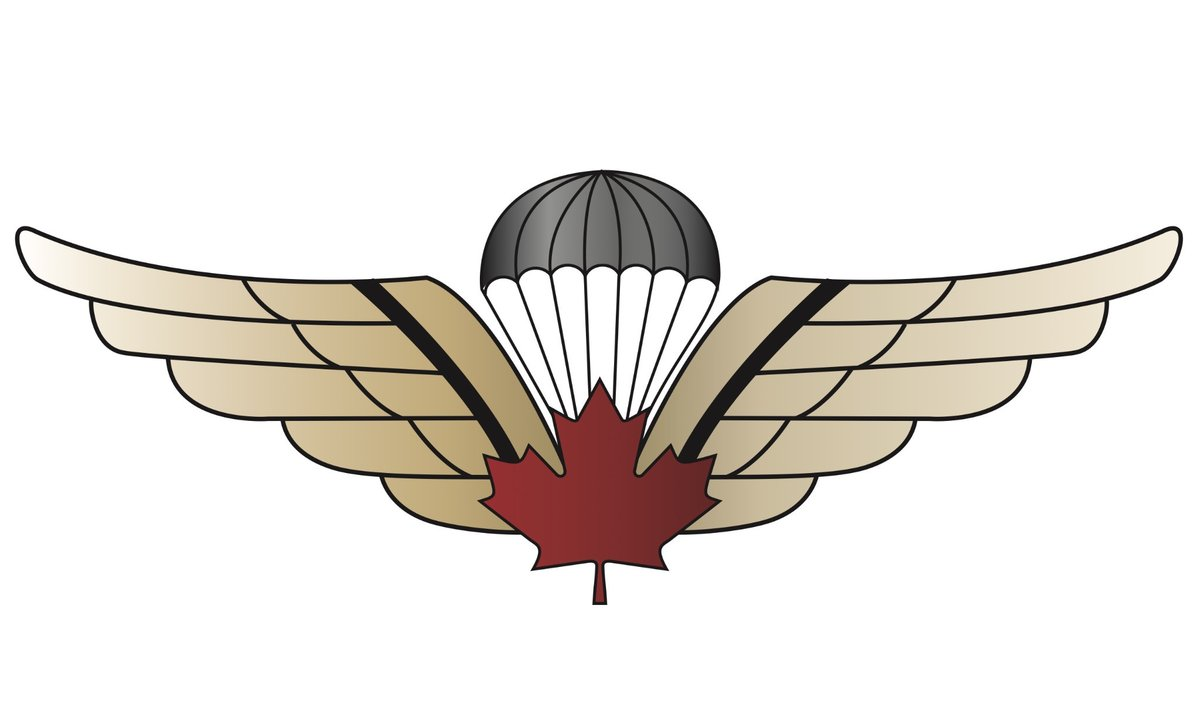 Airborne Wings Clipart.