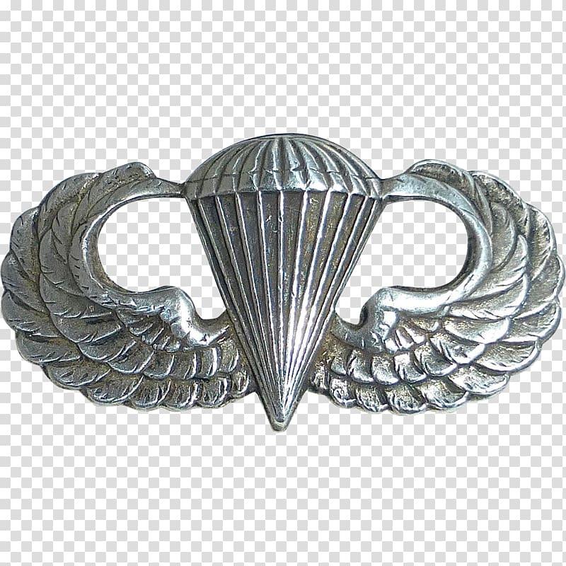 United States Army Airborne School Parachutist Badge.