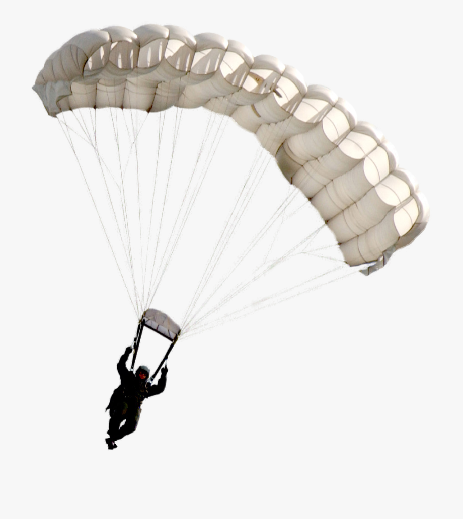 Military Drawing Paratrooper.