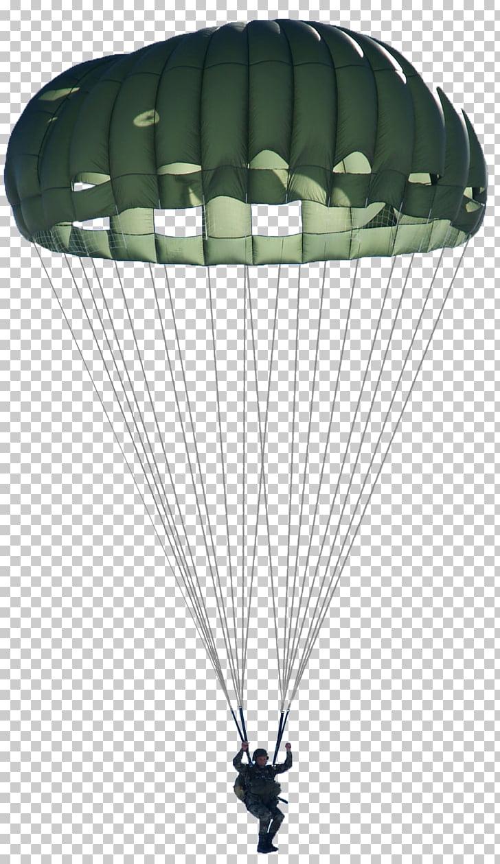 Parachute Parachuting Paratrooper Military, parachute.