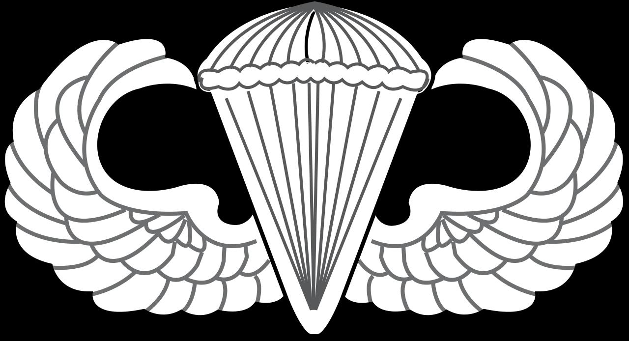 Airborne Wings Vector at GetDrawings.com.