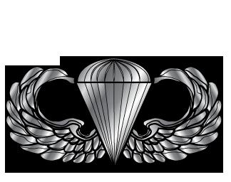 Airborne Parachute Clipart.