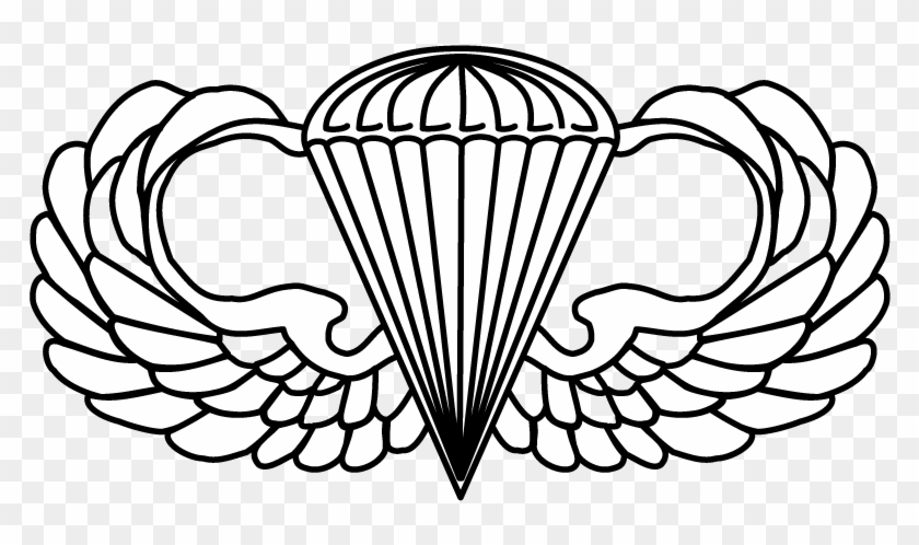 Airborne badge clip art Transparent pictures on F.