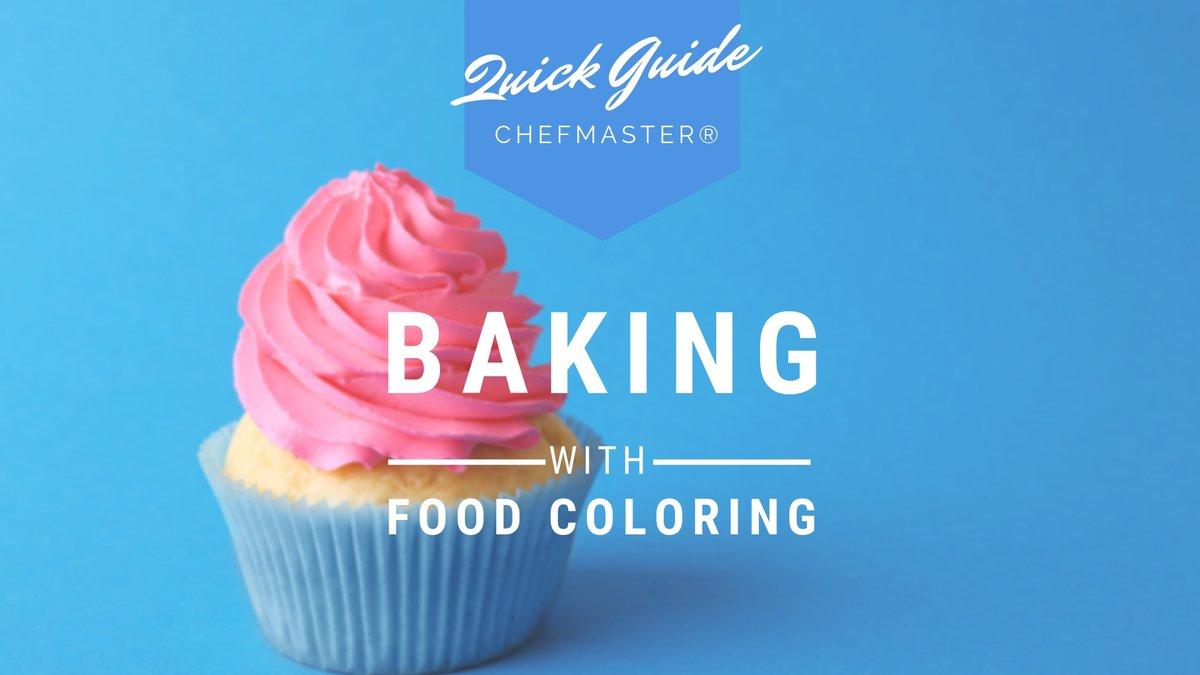 Food Coloring for Baking 101: Fundamentals, Tips & Tricks.