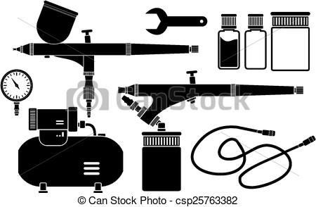 Airbrush clipart 3 » Clipart Station.