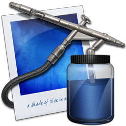 Photoshop Airbrush Icon, PNG ClipArt Image.