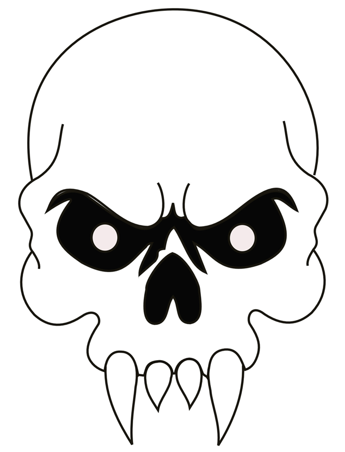 Skull Airbrush Stencils.