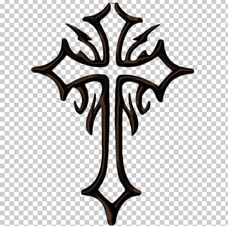 Stencil Christian Cross Celtic Cross Tattoo PNG, Clipart.