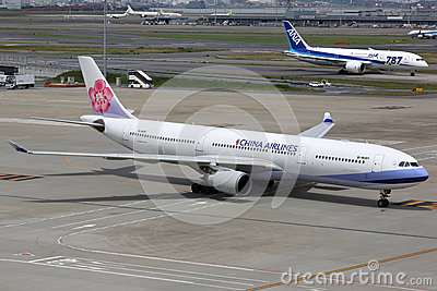 China Airlines Airbus A330.