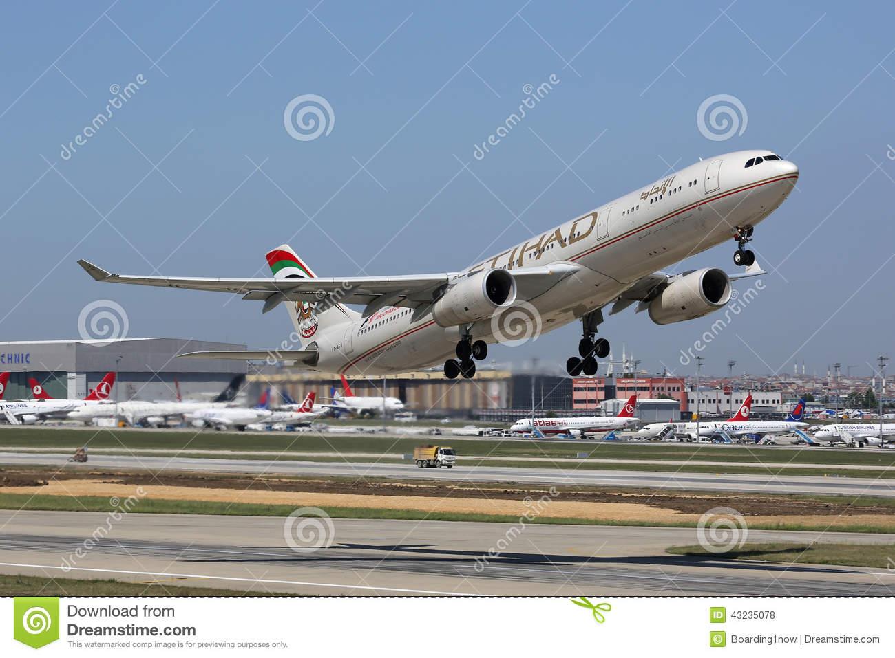 Etihad Airbus A330.