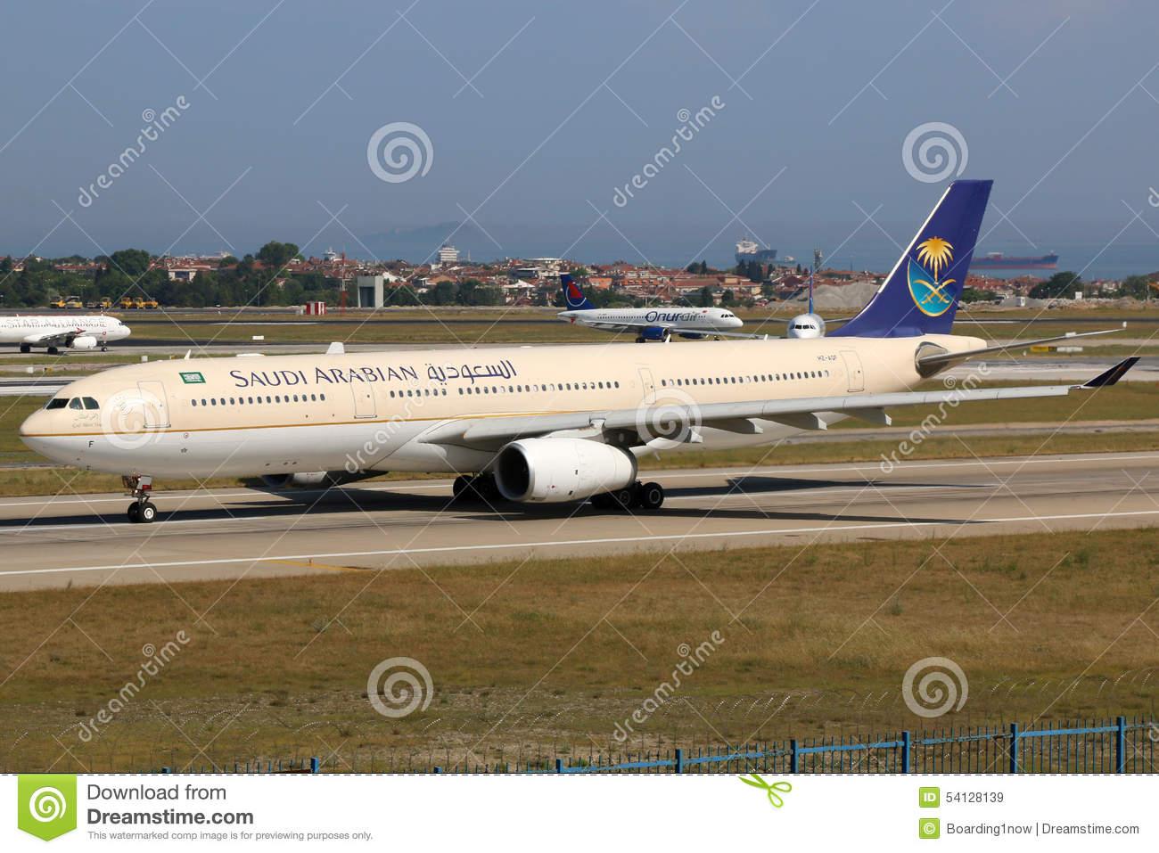Saudi Arabian Airlines Airbus A330.