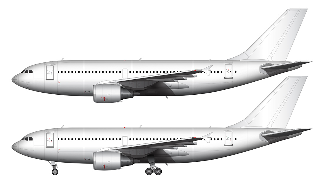 airliner templates.