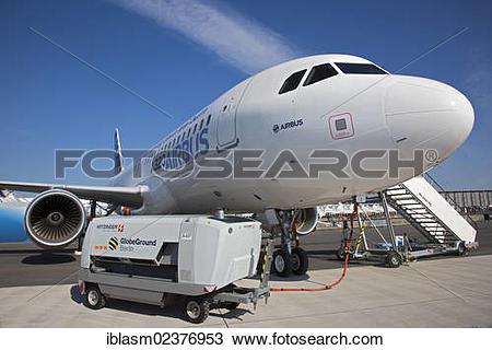 "Stock Photo of ""Airbus 300, ILA 2012, Berlin ExpoCenter Airport."