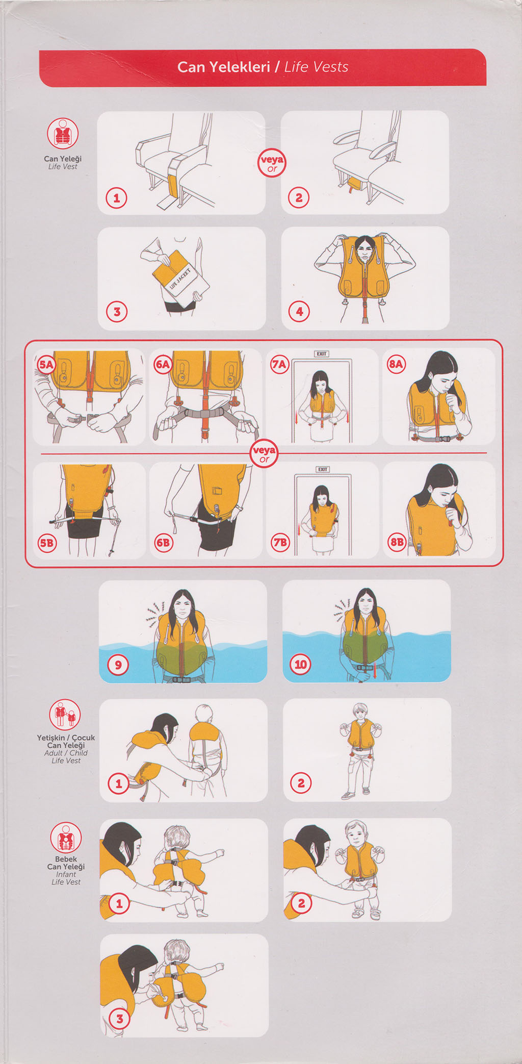 Safety Card Turkish Airlines Airbus A321 (1).