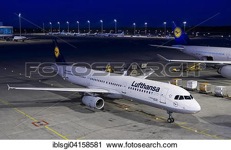 Stock Photography of Airbus A321.