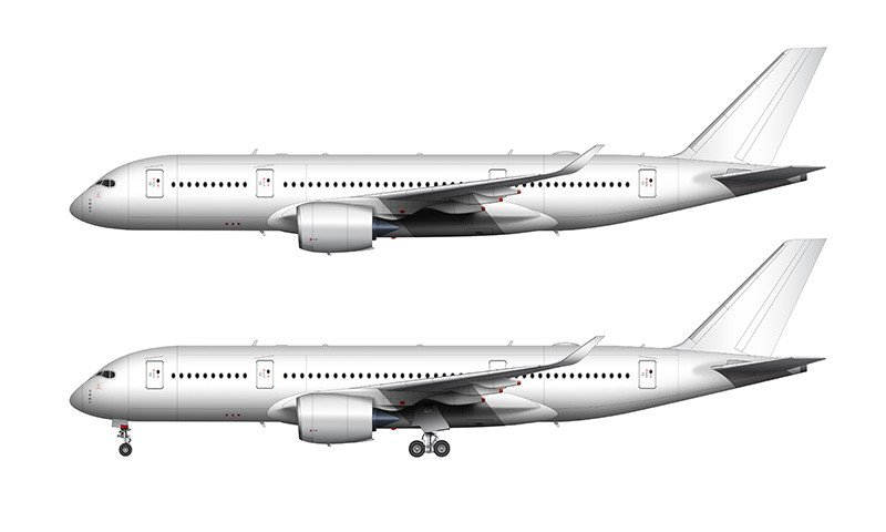 Airbus A380 Clipart Clipground