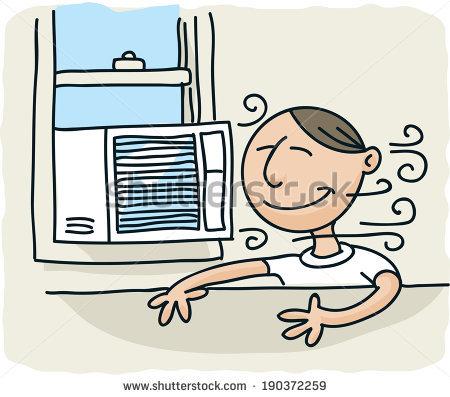 Window Air Conditioner Stock Photos, Royalty.