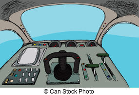 Cockpit Illustrations and Clip Art. 2,031 Cockpit royalty free.