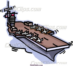 Aircraft Carrier Clipart.