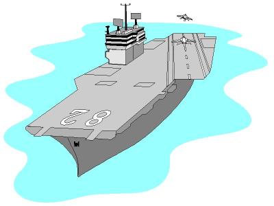 Aircraft carrier clipart.