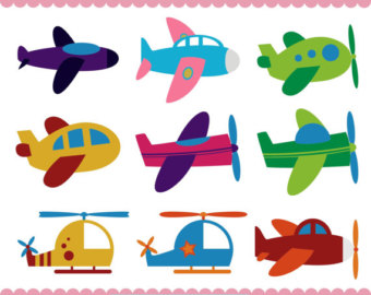 Airplane clipart.