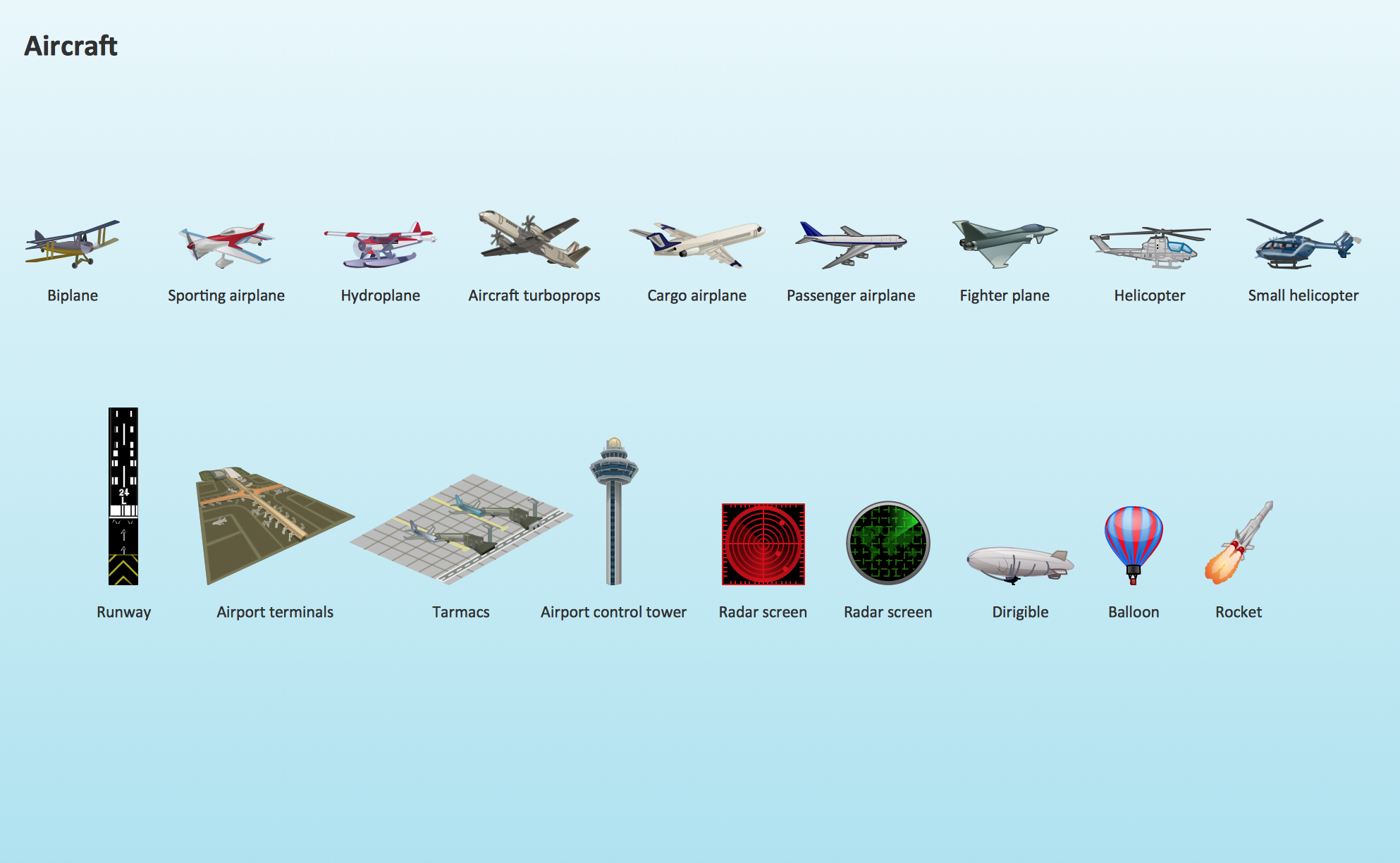 Aerospace clipart example.