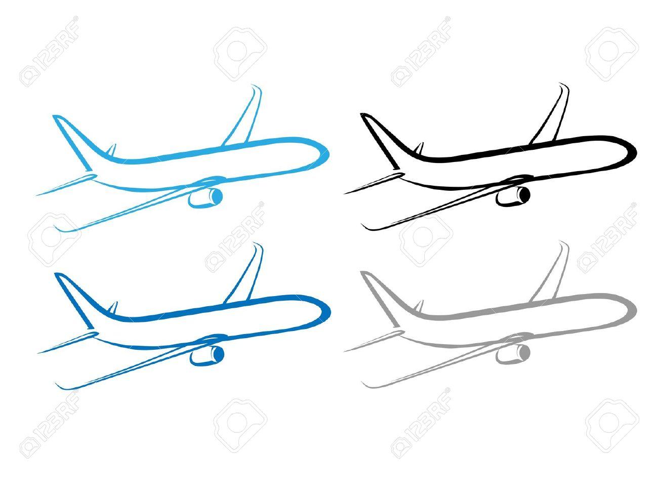 Stylized Airplane.