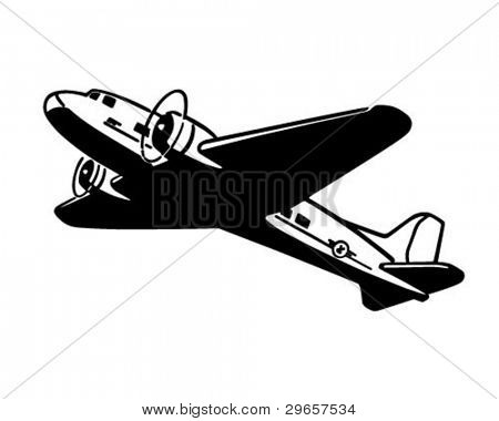 Airplane Taking Flight.