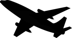 Airplane clipart flight clipart.