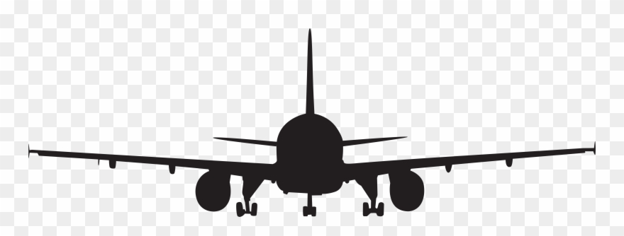 Airplane Silhouette Clip Art Png Imageu200b Gallery.