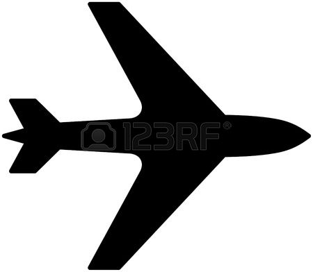 Aircraft fuselage clipart #6