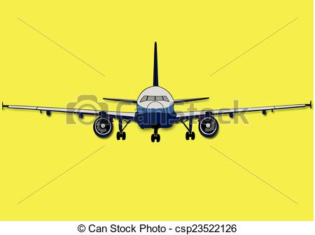 Vector Illustration of Plane.
