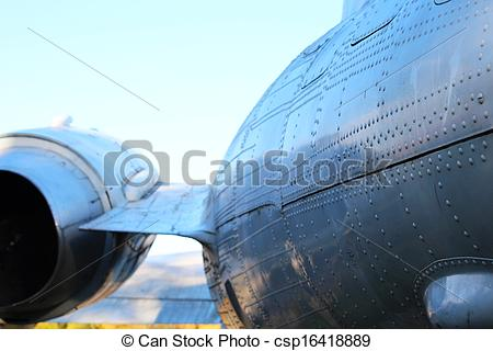 Pictures of Fuselage (hull) of airplane.