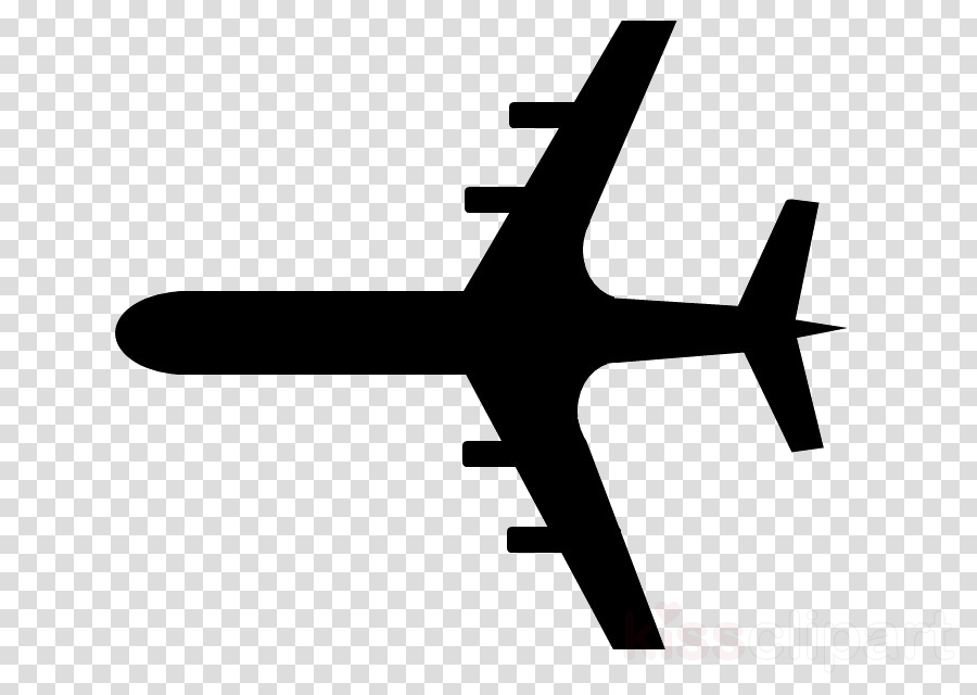 airplane air travel line aircraft logo clipart.