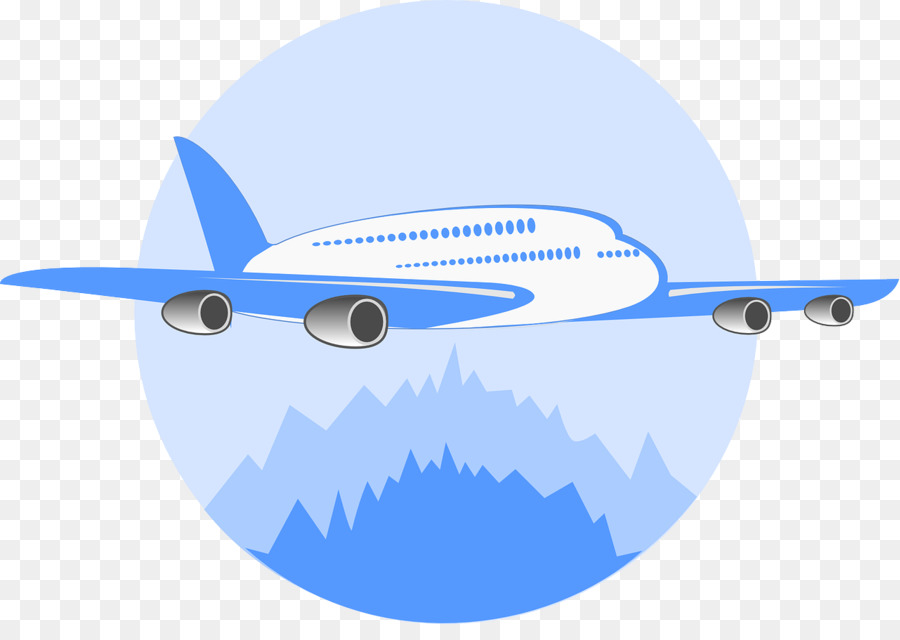 Travel Blue Background clipart.